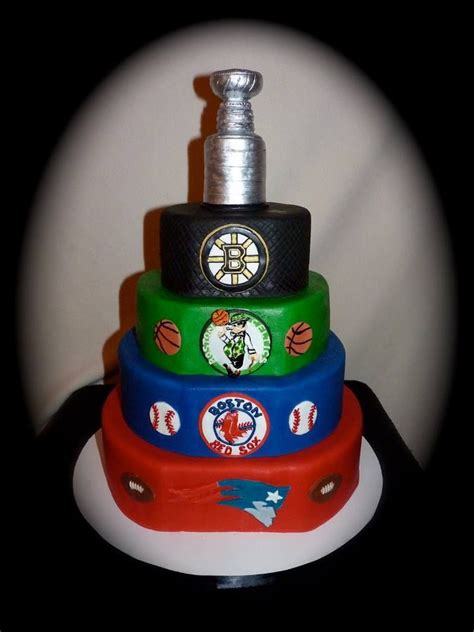 Excellent Ideas Birthday Cakes Boston Incredible Celtics