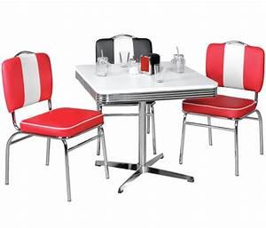 American Diner Tisch : american diner tisch king 50er jahre design ~ Frokenaadalensverden.com Haus und Dekorationen