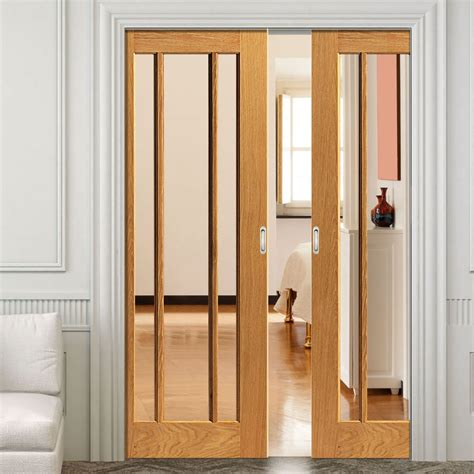 pocket doors for river oak darwen pocket doors clear glass