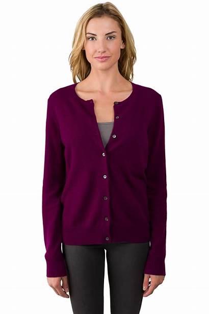 Cardigan Sweater Button Cashmere Plum Liu Jennie