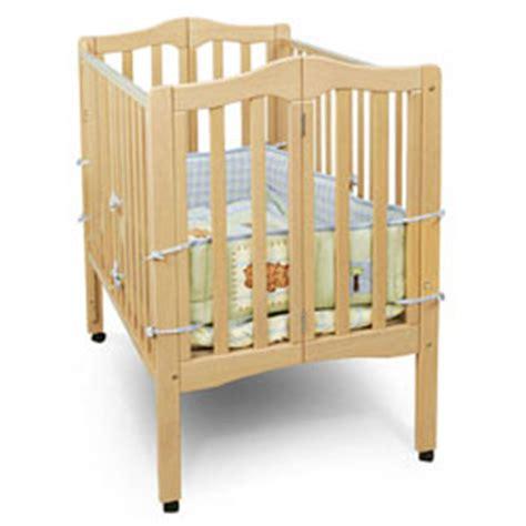 wooden portable crib fold away portable crib by on me