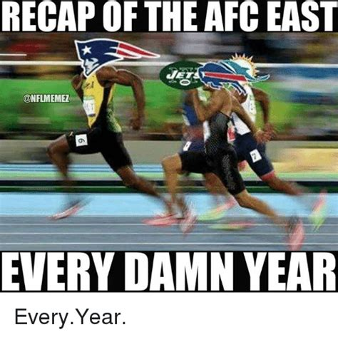 recap of the afc east every damn year everyyear nfl meme