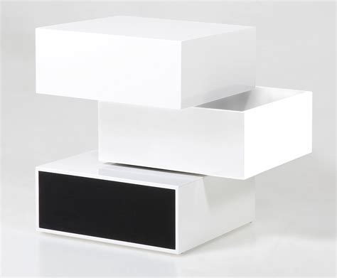 table d appoint blanc laque preview