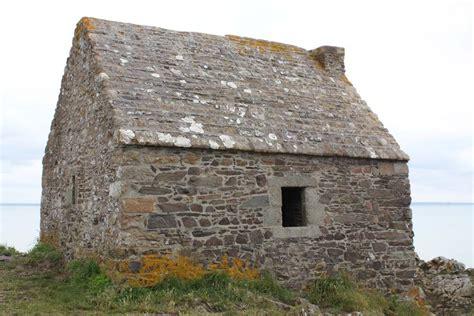 Stone Hut At La Cabane Vauban, Carolles, Normandy, France