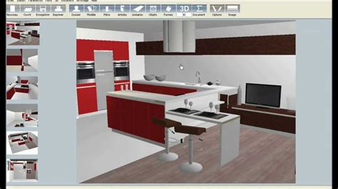 logiciel pour dessiner plan cuisine gratuit