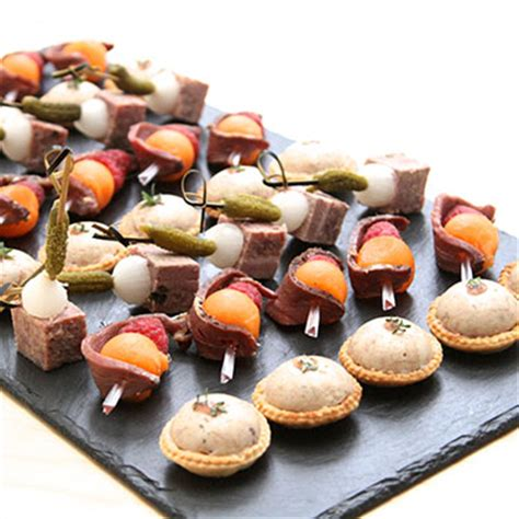 summer canapes bertrand munier personal chef catering for