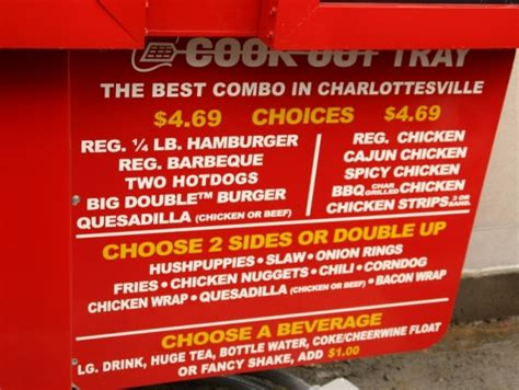 cookout menu meet the meat cook out backs up charlottesville artery the hook charlottesville s weekly