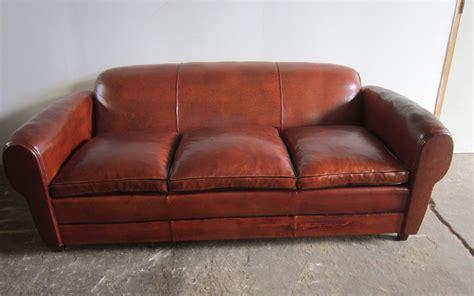 canape ancien canapé ancien ées 1950 l 39 atelier du cuir bretagne