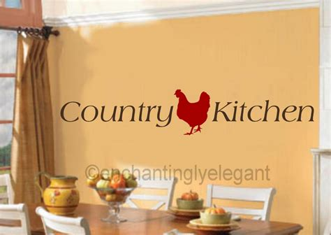 country kitchen wall decals country kitchen vinyl decal wall sticker words lettering 6169