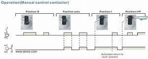 Contactor Operation Diagram