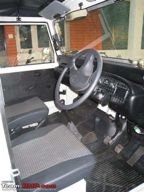 thar jeep interior the mahindra thar di finally team bhp
