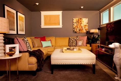 Small Basement Family Room Decorating Ideas by Mission Possible A Brightened Basement