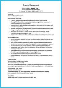 Assistant Manager Description For Resume by Writing A Great Assistant Property Manager Resume
