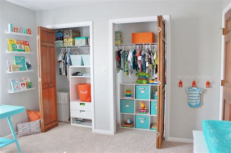 Finally! Our Baby Boy's Aqua, Orange, & Grey Nursery