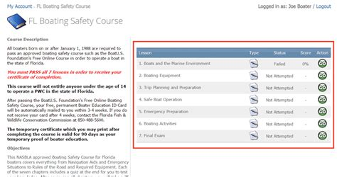 Florida Boating Education Test Answers by Florida 2 15 Course Work