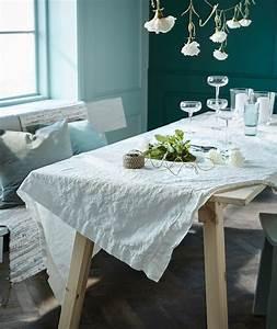 Tischdecke Weiß Ikea : tische sommerlich gestalten ikea ~ Watch28wear.com Haus und Dekorationen