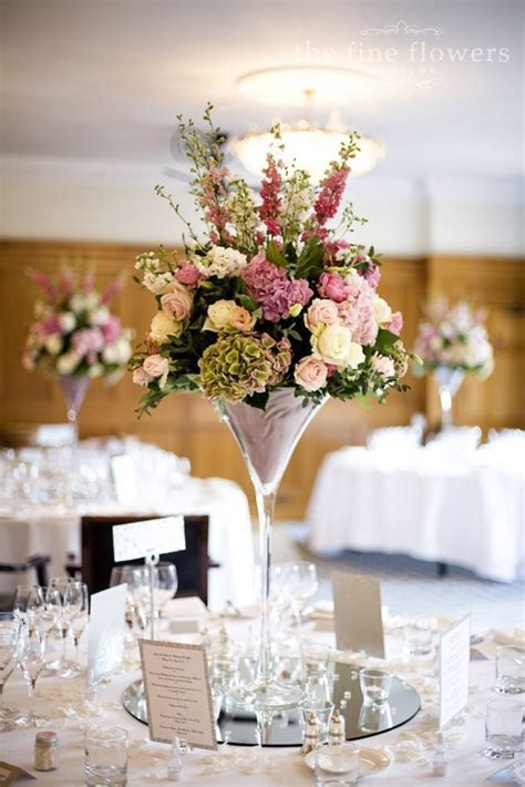 wedding vases wholesale martini vase  clear glass
