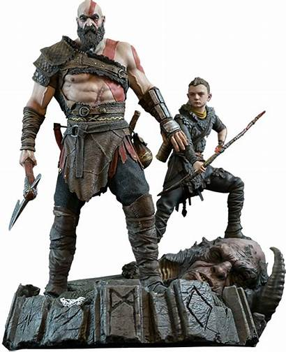 God War Ps4 Pluspng Statue Transparent Entertainment