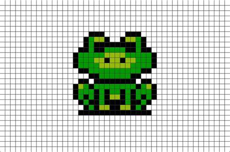 Frog Suit Mario Pixel Art