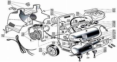Husky Parts Compressor Air Schematic Repair Portable