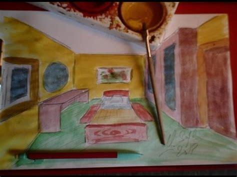 comment dessiner une chambre en perspective dessiner en perspective 16 20 une chambre en 3d pas à