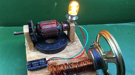 Electric Motor Experiment by Free Energy Electricity Motor Or Rotor Experiment