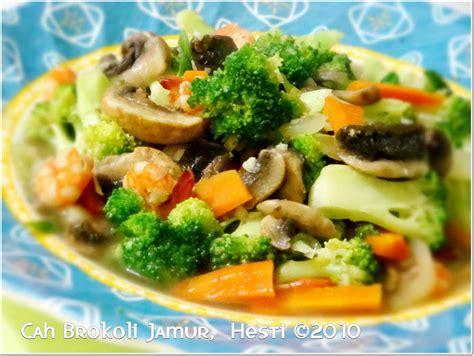 resep membuat cah brokoli saus tiram aneka kreasi resep
