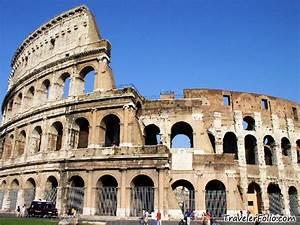 Colosseum,Roman Forum,Trevi Fountain,Spanish Steps  Rome ...