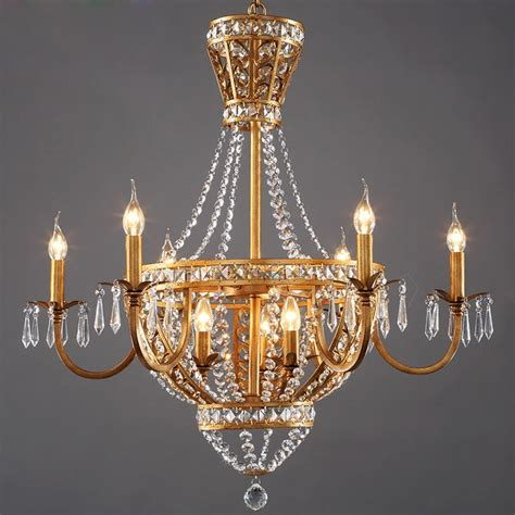 Vintage Style Chandelier by American Vintage Rustic Style Chandelier