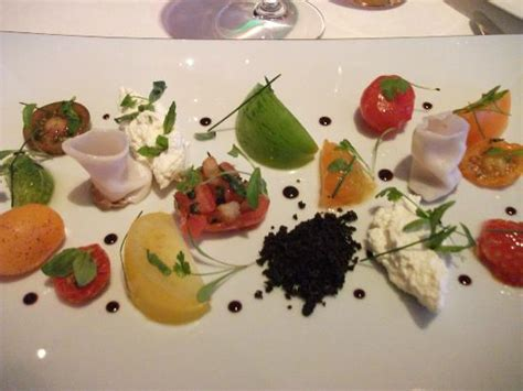 gordon ramsay cuisine en famille salad of heirloom tomatoes confit marinated and stuffed
