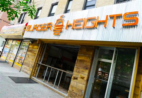heights burger open business