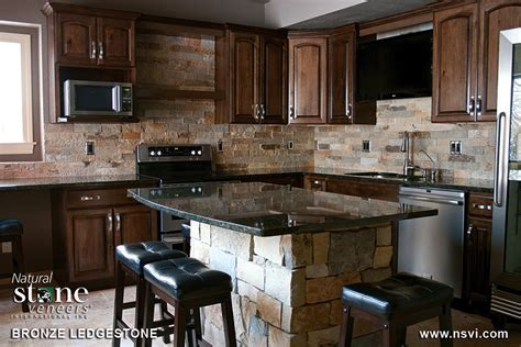 Bronze   Kitchen   Residential   Natural Stone Veneers Inc.