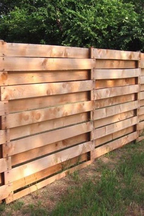 interesting diy projects pallet fence design ideas
