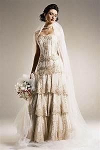 how to look classy in vintage inspired wedding dresses With old style wedding dresses