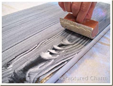 wood graining  painting laminate furniture painted