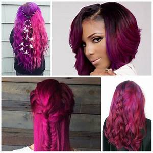 23 Ideas For Trendy Magenta Hair Color  U2013 Hairstyles For Women