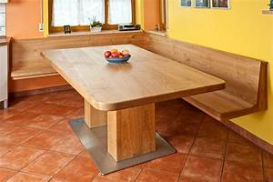 Eckbank Mit Tisch Und Stühle Günstig : eckbank mit tisch aus kirschbaum massivholz ge lt bank ~ Watch28wear.com Haus und Dekorationen