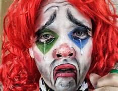 Sad  Drunk Clown Makeu...
