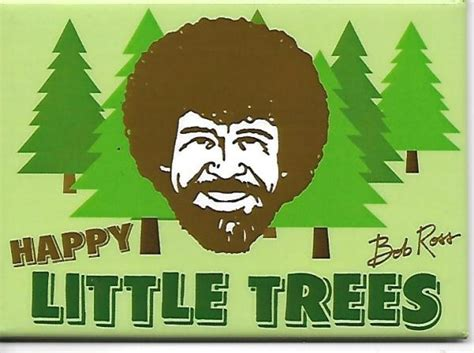 Bob Ross Joy Of Painting Happy Little Trees Art