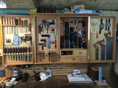 A tool cabinet, not a tool display case ? DCW Woodworks