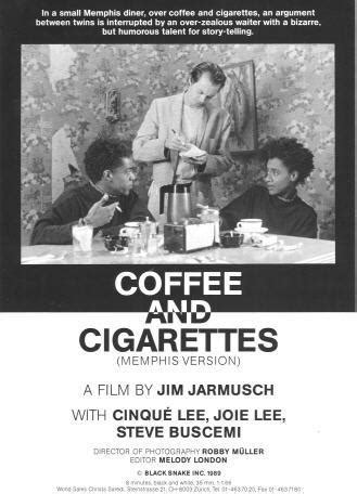 In a vignette called strange to meet you, roberto sits at a small table in a coffee bar. Café y cigarrillos II (C) (1989) - FilmAffinity