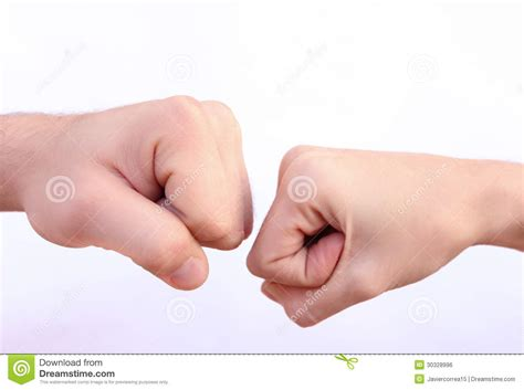 Power Fists Royalty Free Stock Image Image 30328996