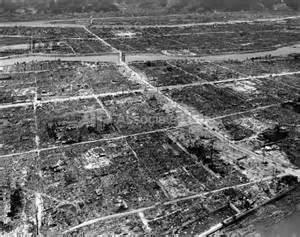 Atomic Bomb Hiroshima After Bombing