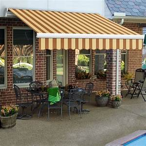 Awntech 20 U0026 39  Maui Manual Retractable Awning