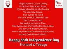 Trinidad and Tobago – National Anthem – My Trini Chile