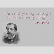 Famous J M Barrie Quotes Quotesgram