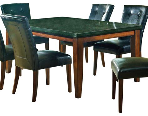 steve silver granite bello granite top 70x42 dining table