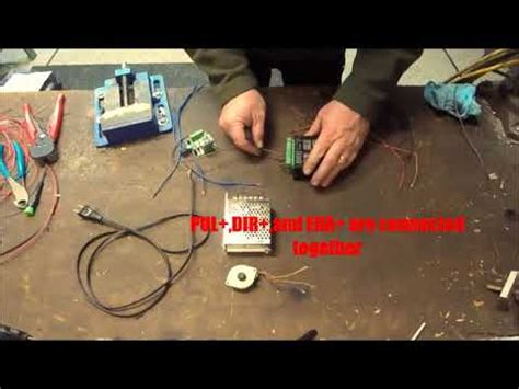 Wiring Stepper Driver Pulse Generator Youtube