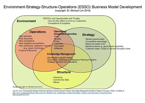 business model file environment strategy structure operations esso business model as designed by dr michael