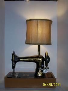Sewing Machine Lamp